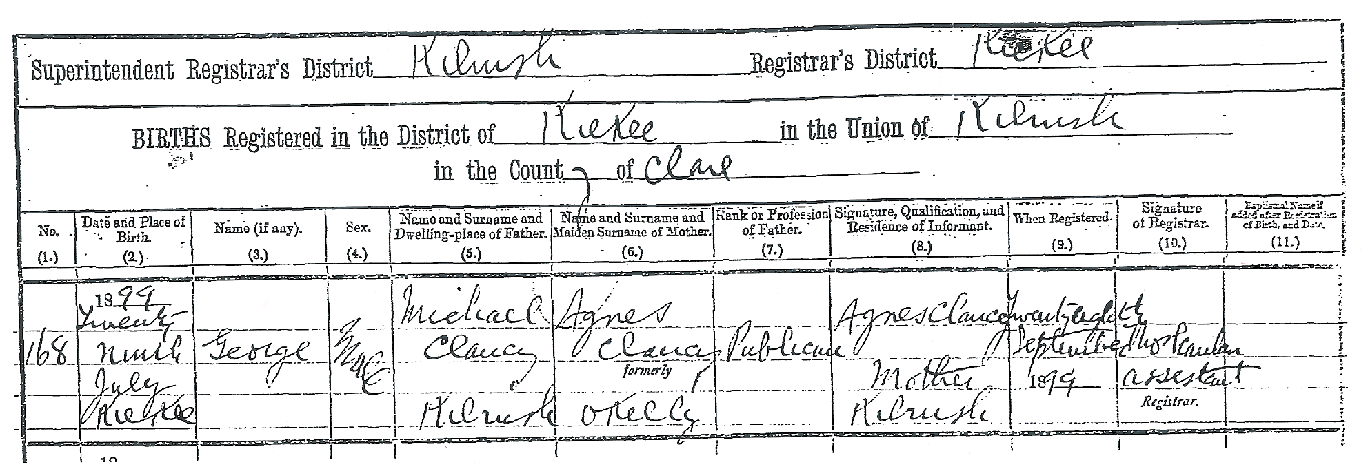 Irish civil registration how to find records of bmds etc birth record 565kb aiddatafo Images